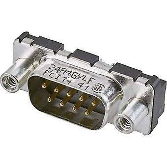 FCI D-SUB D-SUB pin strip 180 ° Number of pins: 9 Print 1 pc(s)