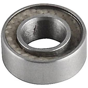 Reely Ball bearing Chrome steel Inside diameter: 4 mm Outside diameter: 8 mm Rotational speed (max.): 56000 rpm