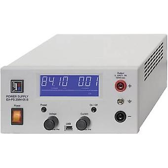 EA Elektro-Automatik EA-PS 2084-03B Bench PSU (adjustable voltage) 0 - 84 Vdc 0 - 3 A 100 W USB remote controlled No. of outputs 1 x