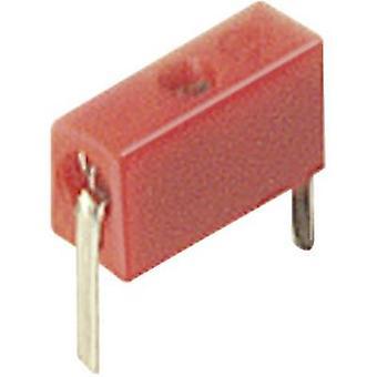 SKS Hirschmann MPB 1 Test socket Socket, straight Pin diameter: 2 mm Red 1 pc(s)