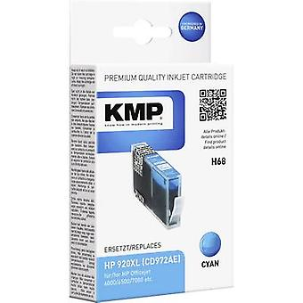 KMP Ink replaced HP 920, 920XL Compatible Cyan