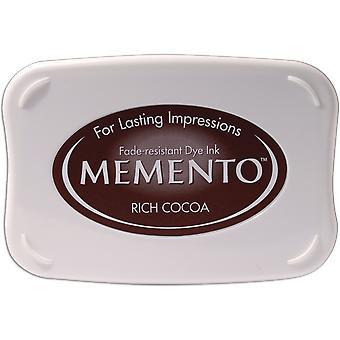Memento Dye Ink Pad-Rich Cocoa