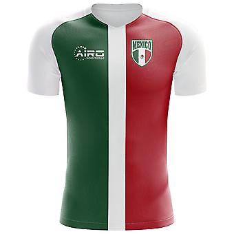 2018-2019 Mexico Flag Concept Football Shirt (Kids)