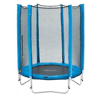 Plum Junior Trampoline and Enclosure 4.5ft Blue
