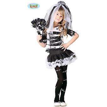Kinder kostuums monster bruid halloween jurk voor kinderen
