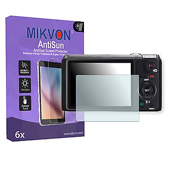 Casio Exilim EX-ZR710 Screen Protector - Mikvon AntiSun (Retail Package with accessories)