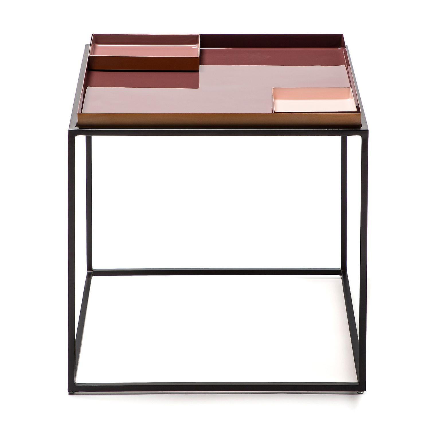 Wondrous Coffee Table Living Room Table Side Table Modern Storage Table Violet Rose Pink Download Free Architecture Designs Embacsunscenecom