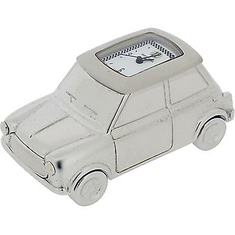 Gift Time Products Mini Car Miniature Clock - Silver