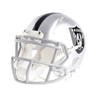 Шлем Ридделл мини-футбол - NFL скорость Oakland Raiders