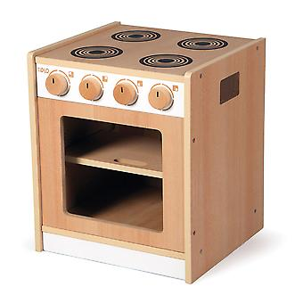Tidlo Wooden Toddler Cooker Pretend Roleplay Kitchen Accessories