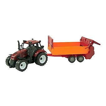 Tractor frictie met mestverspreider 40cm