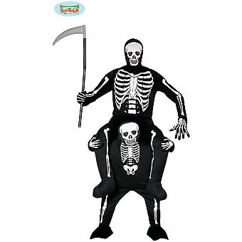 Men costumes  Carry me skeleton suit