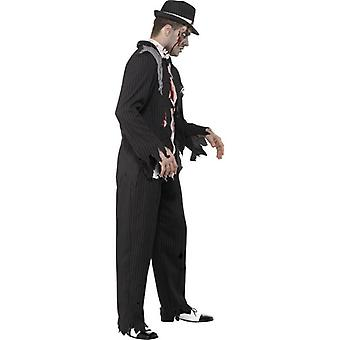 Zombie Gangster Costume, Chest 38