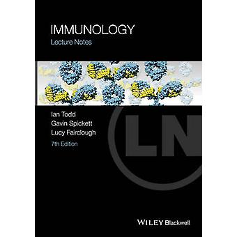 Notas - Inmunología de la Conferencia (7 º edición revisada) de Ian Todd - Gavin S