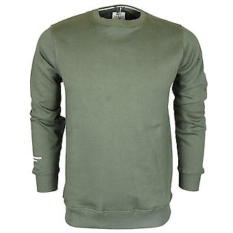 Weekend Offender Olivares Khaki Long Sleeve Sweatshirt