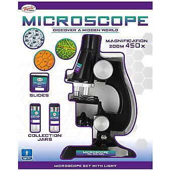 Toyrific Microscoop instellen met licht
