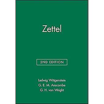 Zettel (Open University Set Books)