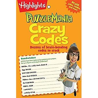 Crazy Codes (Puzzlemania(r) Puzzle Pad)