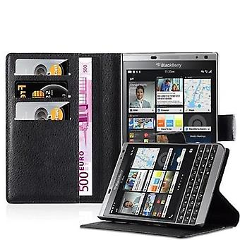 Cadorabo Case for Blackberry PASSPORT SILVER EDITION - Phone Case with Magnetic Closure, Stand Function and Card Compartment - Case Cover Case Case Case Case Book Folding Style
