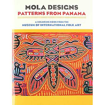 Mola Designs: Patterns from Panama Coloring Book CB177