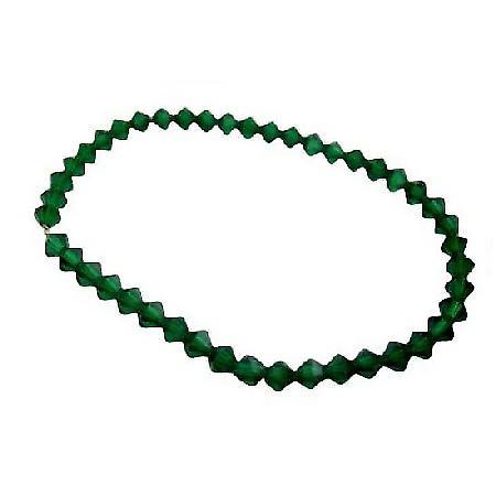 Tahitan Green Crystals Jewelry Swarovski Tahitan Crystals Bracelet