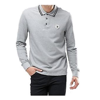 Converse Long Sleeve Men's Polo Shirt