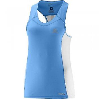 Agile Tank Blue Womens