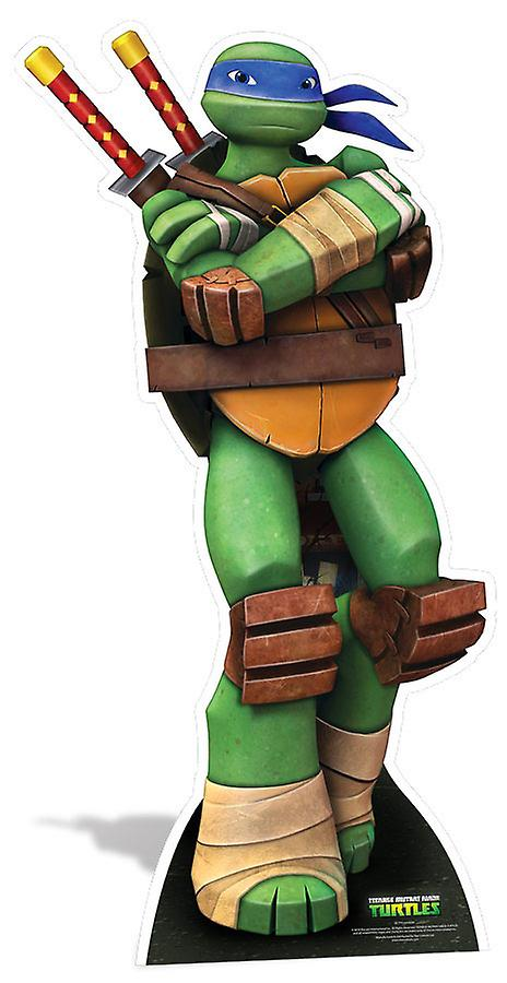 Leonardo Teenage Mutant Ninja Turtles Lifesize Cardboard Cutout / Standee / Standup - Nickelodeon Series