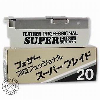 Feather Professional SUPER Replacement Razor Blades (x20)