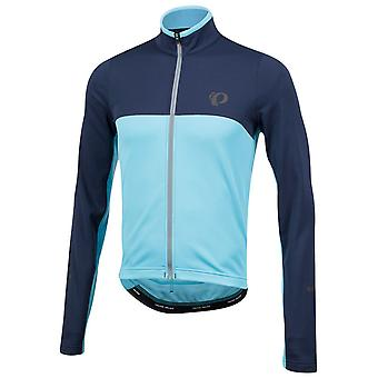 Pearl Izumi Eclipse Blue-Blue Mist Select Thermal Long Sleeved Cycling Jersey