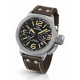 TW acero Cs33 Cantina cronógrafo reloj 45 mm