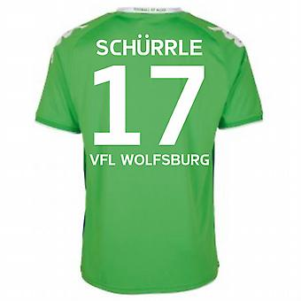 2015-16 Wolfsburg Away Shirt (Schurrle 17)
