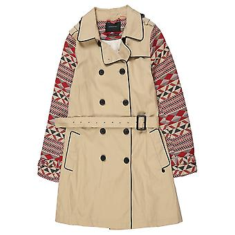 Maison Scotch Double Breasted Trench Coat
