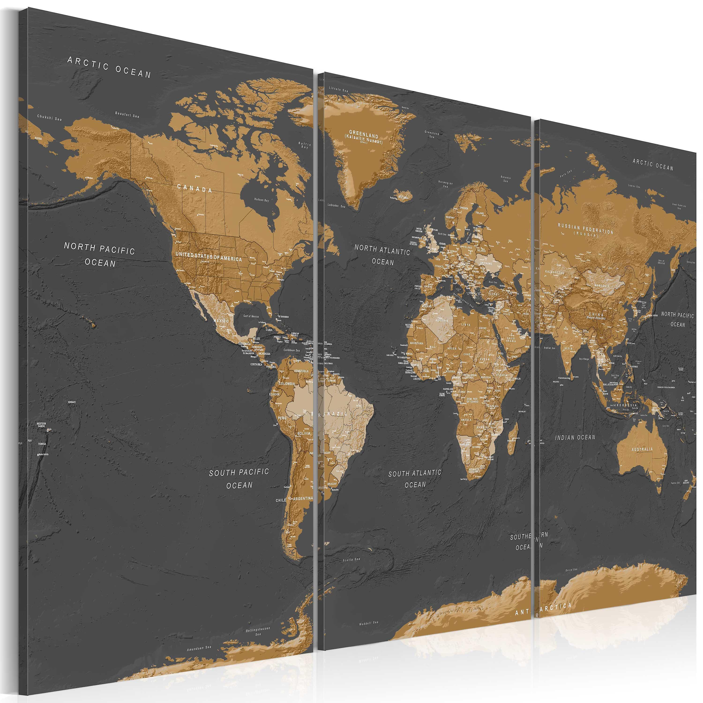 Tableau - World Map  Modern Aesthetics