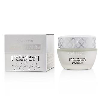 3w Clinic Collagen White Whitening Cream - 60ml/2oz