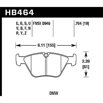 Hawk prestaties HB464U. 764 DTC-70