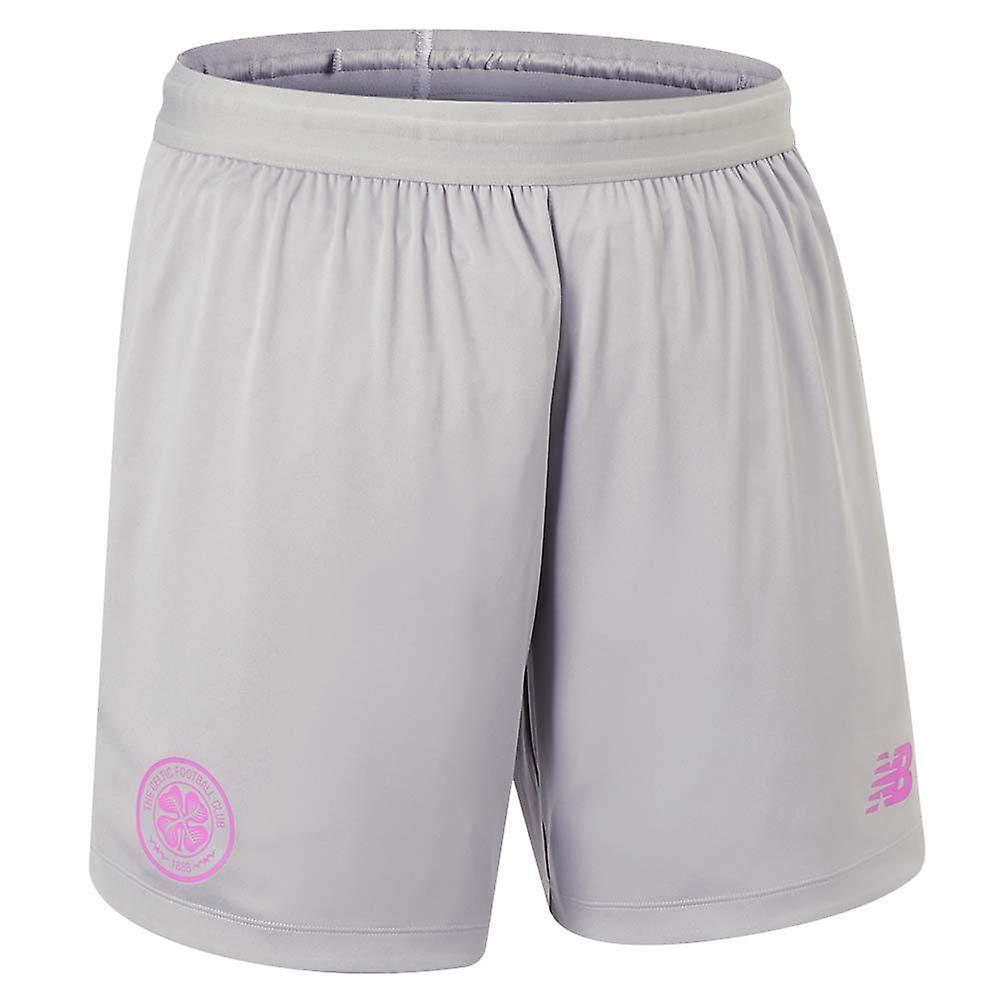 2019-2020 Celtic Third Shorts (Grey) - Kids