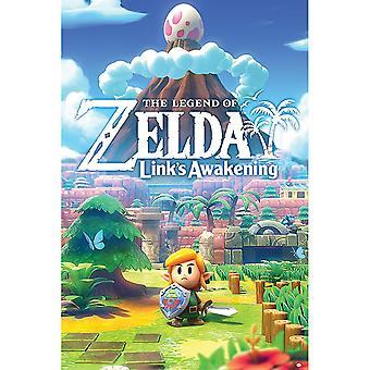 The Legend of Zelda Links Awakening 123 Poster