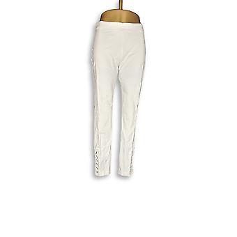 Susan graver leggings Premium stretch hvid A300538