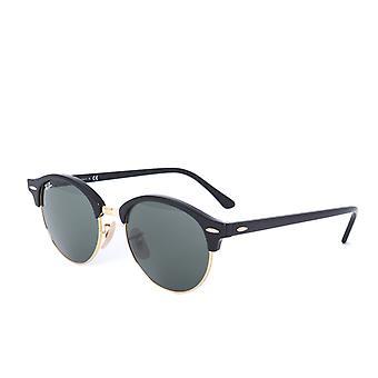 Ray-Ban Clubround lunettes de soleil noires classiques