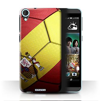 STUFF4 Case/Cover for HTC Desire 820s Dual/Spain/Spanish/Football Nations