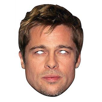 Brad Pitt Celebrity Card Party Face Mask