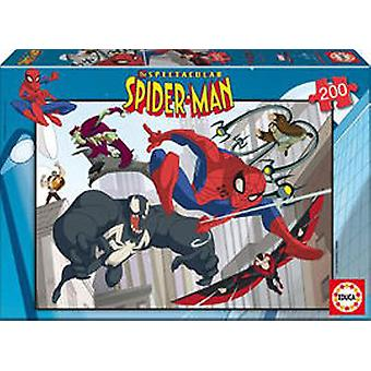 Educa Puzzle Spiderman 200 Pieces (Toys , Boardgames , Puzzles)