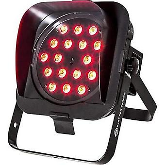 LED PAR stage spotlight ADJ FLAT PAR TRI18XS No. of LEDs: 18 x 3 W