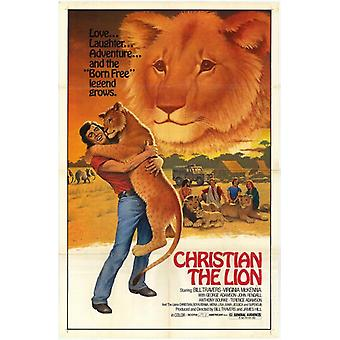 Christian Lion elokuvan juliste tulosta (27 x 40)