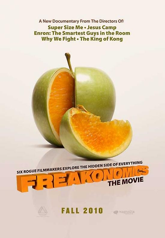 "freakonomics movie ""freakonomics,"" an innovative film about innovative research, is being marketed in a new way."