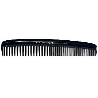 Hercules Sagemann Mens Hair Comb Wide & Fine Teeth 6""