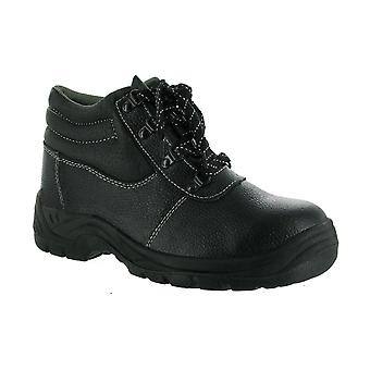 Centek FS330 Mens Safety Boots Workwear Textile Leather Rubber Lace Up Fastening