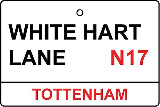 Tottenham / White Hart Lane Street Sign Car Air Freshener