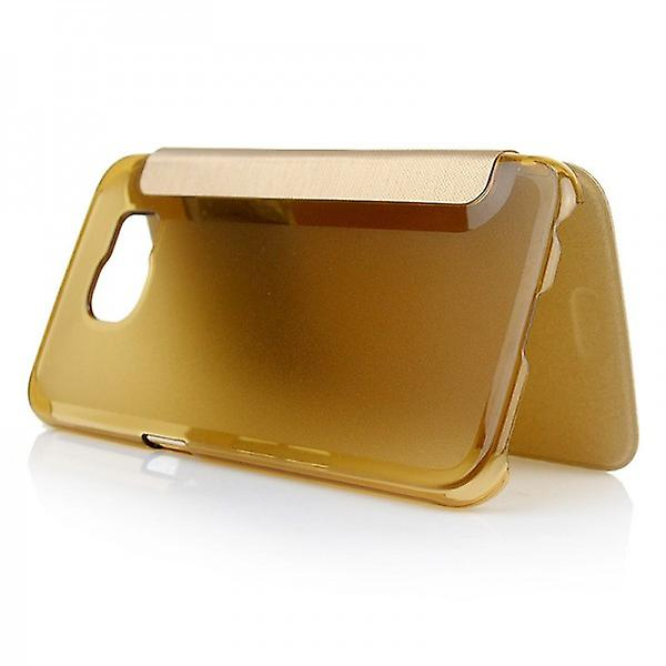 Smart cover window gold for Samsung Galaxy S6 G920 G920F